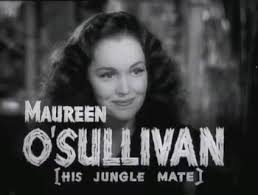 Maureen O'Sullivan in Tarzan Finds a Son in 1939. Photograph: Wikimedia Commons