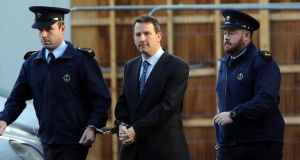 Graham Dwyer was convicted of the murder of the childcare worker Elaine O'Hara. Photograph: Collins Courts