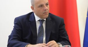 Keith Schembri, who has resigned as chief of staff to Malta's prime minister Joseph Muscat, pictured in October 2018. Photograph:  Matthew Mirabelli/AFP via Getty Images