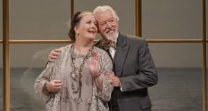 Drama at Inish: Marion O'Dwyer and Nick Dunning in Cal McCrystal's production. Photograph: Ros Kavanagh