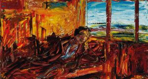 Reverie by Jack Butler Yeats achieved €1.4m (€500.000-€700.000) Whyte's and Christie's from  Ernie O'Malley Collection. A record price.