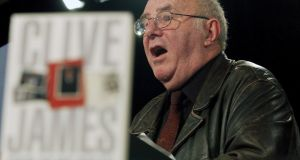 Australian writer Clive James: The TV reviews he wrote for the Observer newspaper from 1972 to 1982  left a lasting impression. File photograph: Alan Porritt/EPA