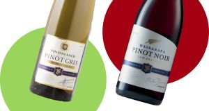 Aldi Exquisite Collection Pinot Gris and South Australia Pinot Noir