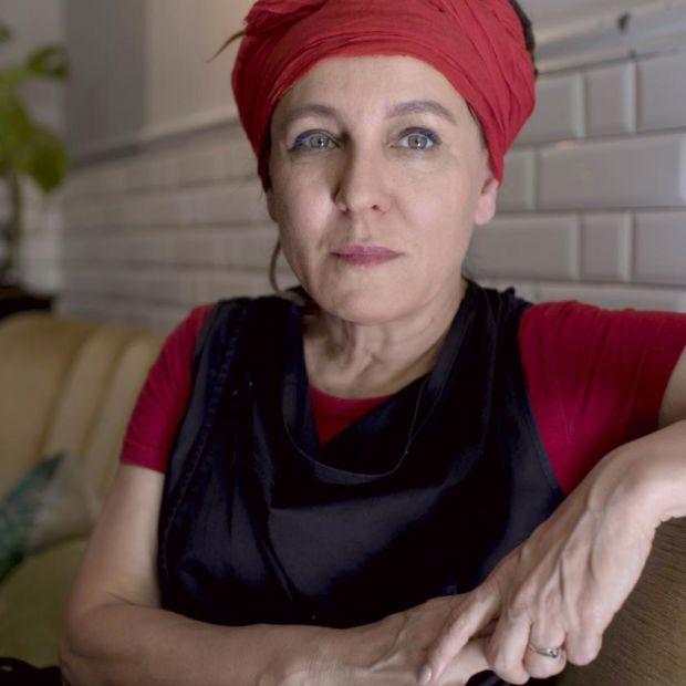 Olga Tokarczuk. Photograph: Maciek Nabrdalik/NYT
