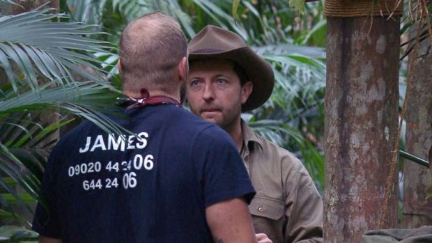 I'm a Celebrity: 'Thoughts you don't care about normally get in your head,' Andrew Maxwell told James Haskell