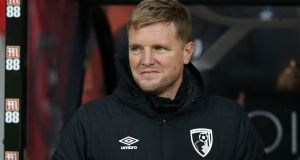 Bournemouth manager Eddie Howe: 'I think this season alone we could have won near enough every game.' Photograph:   Robin Jones/Getty Images
