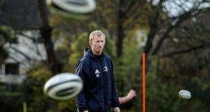 Leo Cullen rings changes with an eye on the back-to-back European games with Northampton from next weekend. Photograph: Inpho