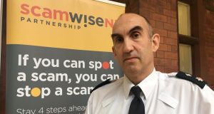 PSNI Chief Superintendent Simon Walls said people should never disclose personal or banking details to anyone over the phone or online, no matter how convincing they may seem.