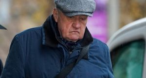 "David Duckenfield, who is now 75.  At the official inquest in 2016, he  acknowledged that he had told a ""terrible lie"" in relation to that gate. He had ordered its opening. It had not been breached by Liverpool fans.  Photograph: Christopher Furlong/Getty Images"