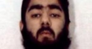 Usman Khan is a British man whose family hails from Pakistan-controlled Kashmir. Photograph: West Midlands Police/PA Wire