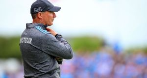 Jim Gavin has stepped aside as Dublin manager. Photograph: Tommy Dickson/Inpho