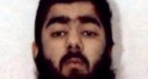 An undated handout photograph of knife attacker Usman Khan. Photograph: West Midlands Police/PA Wire