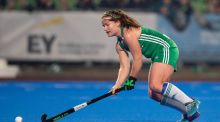 Pegasus's Shirley McCay in action for Ireland. McCay was key to her club's comeback against UCD. Photograph: Inpho