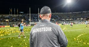 Jim Gavin: his decision  to leave was taken towards the end of last week and only communicated to players and officials on Saturday morning. Photograph: James Crombie/Inpho