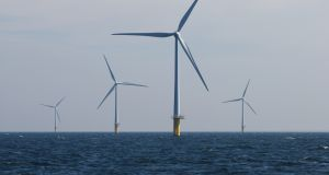 Off-shore wind  turbines. File photo. Photograph: Jasper Juinen/Bloomberg
