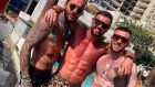 Jack Byrne on his holidays in Dubai after a stellar season for Shamrock Rovers.