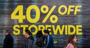 A Black Friday promotion in Los Angeles.