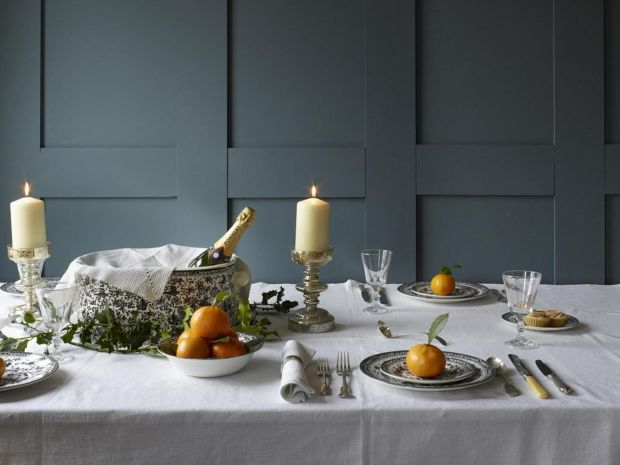 A dinner service created by Burleigh and Soho Home