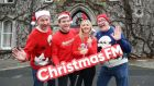 Christmas FM launches its 2019 programme with charity partner Barretstown: station co-founder Garvan Rigby; former Irish rugby player and Barretstown ambassador Gordon D'Arcy; Barretstown chief executive Dee Ahearn; station co-founder Walter Hegarty