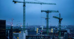 As our cities – particularly Dublin – become clogged, it is remarkable that growth is still continuing at such a rapid rate. Photograph: John Ohle
