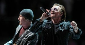 Bono and The Edge are individual investors in Dropbox.