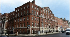 The National Maternity Hospital on Holles Street, which is one of relatively few Irish hospitals to have made the switch to e-health records. Photograph: Bryan O'Brien