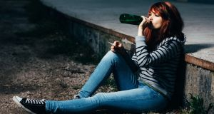 Twenty-six per cent of 15-16-year-old students surveyed in Galway, Mayo and Roscommon said they had been drunk in the last month. Photograph: iStock