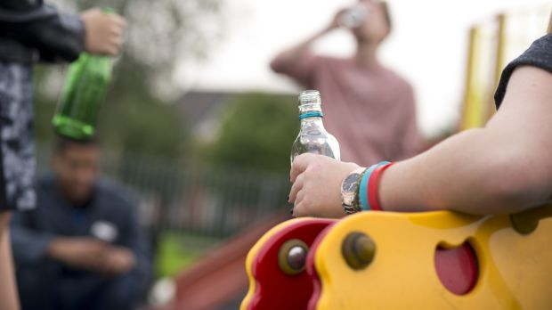 Thirty per cent of 15-16-year-old students surveyed in Galway, Mayo and Roscommon said they had tried alcohol by age 13. Photograph: iStock