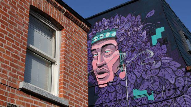 Artwork in Ranelagh. Photograph: Nick Bradshaw
