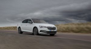Skoda Superb's 62km electric range means for anyone with a county-to-city commute,  you could conceivably get from Monday morning to Friday evening without a single millilitre of petrol being burned