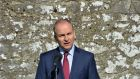 Fianna Fáil leader Micheál Martin: repeated his view that the natural 'cut off' point for this Dáil is Easter next year.  File Photograph: Alan Betson