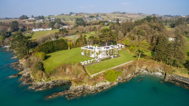 3. Kilfinnan Castle, Glandore, Co Cork