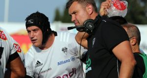 Jeremy Davidson has agreed a two-year extension as head coach of Brive. Photograph: Thierry Suire/AFP via Getty Images