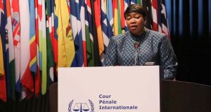 The International Criminal Court's head prosecutor, Fatou Bensouda, has been in the role since 2012. Photograph: Abdullah Asiran/Anadolu Agency via Getty
