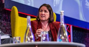 Oonagh Buckley, deputy secretary general at the Department of Justice, told the Geneva gathering racism has become 'a very real issue in Ireland'. Photograph: James Forde