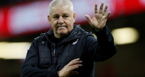 Warren Gatland, coach of the British and Irish Lions, hopes Premiership Rugby Limited will see common sense over their 2021 final. Photograph: Matthew Childs/Reuters.