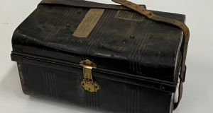 Jack B Yeats' trunk, which he placed in storage at the Bank of Ireland vaults in the 1950s,  is expected to sell for €300-€400