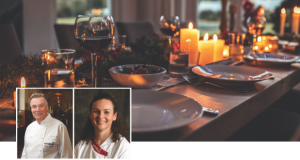 Silent charity auction: Enjoy a Michelin star dinner for six in your home!