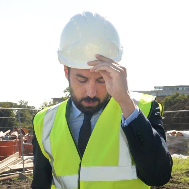 Under pressure: Minister for Housing Eoghan Murphy. Photograph: Dara Mac Dónaill