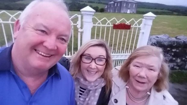 "A family photo at Father Ted's house: ""A family day out when mum just started to get sick and was a little forgetful but was mostly fine."""