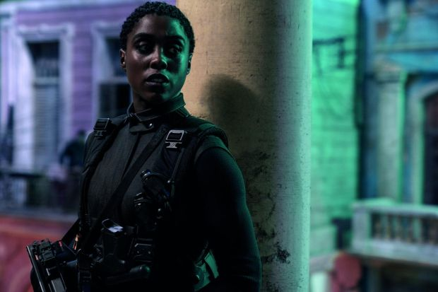 No Time to Die: Lashana Lynch in the new James Bond film. Photograph: Nicole Dove/MGM