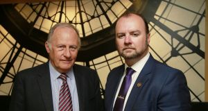 Child safeguarding expert Ian Elliott (left) will 'leave no stone unturned' in his inquiries into Scouting Ireland, the chair of the organisation's board Adrian Tennant (right) has said. File photograph: Nick Bradshaw/The Irish Times.