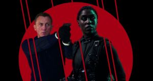 Daniel Craig and Lashana Lynch: the trailer hints that she may be the new 007. Photographs: MGM