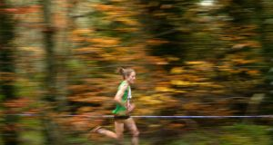 Fionnuala McCormack: national women's champions will be part of a strong Ireland team in Lisbon on Sunday in the European Cross-Country Championships. Photograph: Dara Mac Dónaill