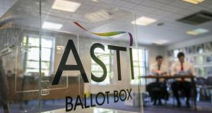 The union said that 93 per cent of members had voted in favour for directing its members to only attend meetings which were in compliance with the agreed arrangements. Photograph: Brenda Fitzsimons/The Irish Times