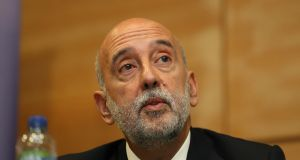 "Central Bank governor Gabriel Makhlouf: ""If I recall correctly that particular gentleman described our work as annoying, and one of the things I can tell you is that he may regret the fact that we will continue to be annoying."" Photograph: Nick Bradshaw"