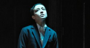 Brooklyn bound: Ruth Negga as Hamlet in the Gate Theatre's production. Photograph: Ros Kavanagh