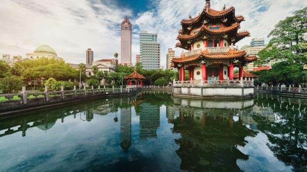 The national park in Taipei, Taiwan. Photograph: IStock