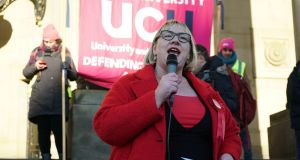 Jane Aitchison, a former Socialist Party member who once called Tories 'lower than vermin', is the Labour Party's candidate in the ultra-marginal constituency of Pudsey. Photograph: Enda O'Dowd