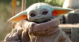 Baby Yoda: The big-eyed face that launched a thousand social media memes.